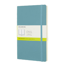 Moleskine Soft Cover Large Notebook 135x210 Reef Blue