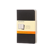 Moleskine Cahier Pocket Journal 90x140 Black