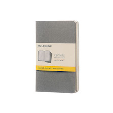 Moleskine Cahier Pocket Journal 90x140 Pebble Grey