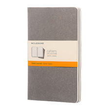 Moleskine Cahier Large Journal 135x210 Pebble Grey