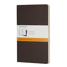 Moleskine Cahier Large Journal 135x210 Coffee Brown
