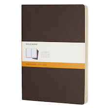 Moleskine Cahier Extra Large Journal 190x250 Coffee Brown