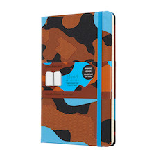 Moleskine Blend Collection Limited Edition Notebook Camouflage Blue