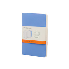 Moleskine Volant Journal Pocket Set of 2 Powder Blue/Royal Blue