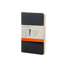 Moleskine Volant Journal Pocket Set of 2 Black