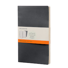 Moleskine Volant Journal Large Set of 2 Black