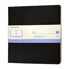 Moleskine Art Plus Sketch Album Square 190x190 Black