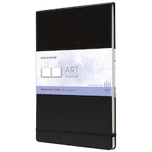 Moleskine Art Plus Watercolour Album Landscape A4 Black