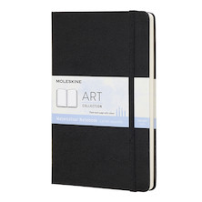 Moleskine Art Plus Watercolour Notebook Portrait Large 135x210 Black