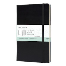 Moleskine Art Plus Music Notebook Large Black