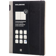 Moleskine Professional Notebook Soft Cover Extra Large 190x250 Black