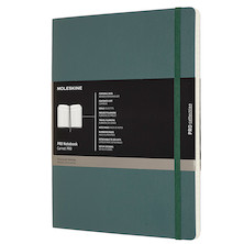 Moleskine Pro Notebook Soft Cover Extra Large Forest Green