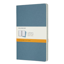Moleskine Cahier Large Journal 135x210 Brisk Blue