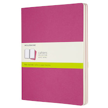 Moleskine Cahier Extra Large Journal 190x250 Kinetic Pink