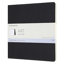 Moleskine Art Plus Sketch Pad Square 190x190 Black