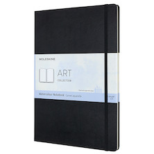Moleskine Art Plus Watercolour Notebook A4 Black