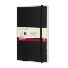 Moleskine Smart Writing Paper Tablet Black Ruled