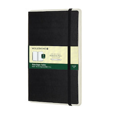 Moleskine Smart Writing Paper Tablet Black Plain
