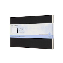 Moleskine Art Plus Watercolour Block Large Notebook 130x210 Black