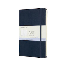 Moleskine Art Plus Sketchbook Medium 118mmx180mm Sapphire Blue