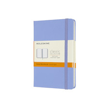 Moleskine Classic Collection Hardcover Pocket Notebook Hydrangea Blue