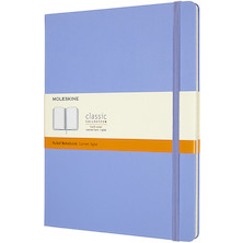 Moleskine Classic Collection Hardcover Extra Large Notebook Hydrangea Blue