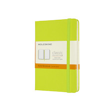 Moleskine Classic Collection Hardcover Pocket Notebook Lemon Green