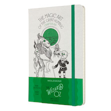 Moleskine Wizard of Oz Large Notebook Limited Edition Magic Art Lined