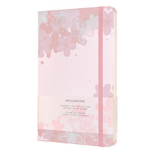 Moleskine Sakura Large Notebook Limited Edition Light Pink Plain
