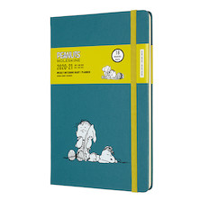 Moleskine Peanuts Large Weekly 18 Month Diary 2020-2021 Limited Edition Blanket