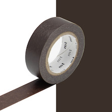 mt Washi Masking Tape - 15mm x 10m - Cocoa