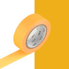 mt Washi Masking Tape - 15mm x 10m - Shocking Orange