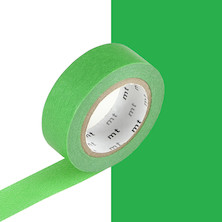 mt Washi Masking Tape - 15mm x 10m - Green