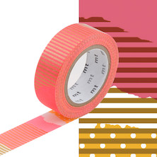 mt Washi Masking Tape - 15mm x 10m - Tsugihagi F