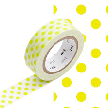 mt Washi Masking Tape - 15mm x 10m - Dot Moegi