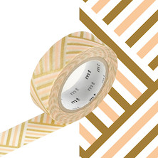 mt Washi Masking Tape - 15mm x 10m - Corner Peach