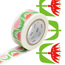 mt Washi Masking Tape by Bengt and Lotta - 20mm x 10m - Tulip