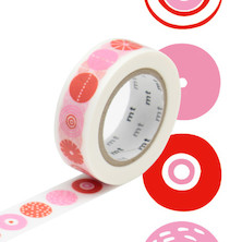 mt Washi Masking Tape by Bengt and Lotta - 15mm x 10m - Candy
