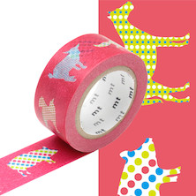 mt Washi Masking Tape EX - 20mm x 10m - Animal Dot