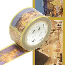 mt Christmas Washi Masking Tape - 25mm x 7m - Christmas in the World
