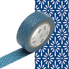 mt Washi Masking Tape 15mm x 10m Hanabishi Tomekon