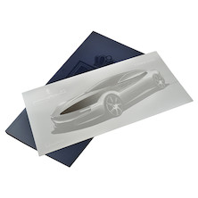 Forever Pininfarina DesigNotes Notebook and Letter Opener