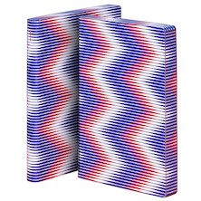 nuuna Graphic L Smooth Bonded Leather Cover Notebook Zig Zag