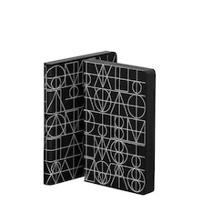 nuuna Graphic S Black Smooth Bonded Leather Cover Notebook Architonic