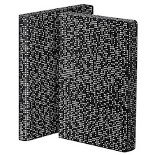 Nuuna Graphic L Smooth Bonded Leather Cover Notebook Pixel