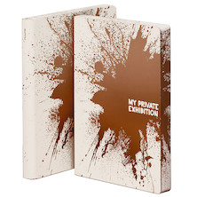 Nuuna Graphic L Smooth Bonded Leather Cover Notebook Private Exhibition