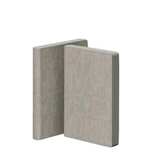 Nuuna Graphic S Jeans Label Material Cover Notebook For My Eyes Only