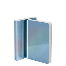 Nuuna Pearl Metallic Cover Notebook Blue