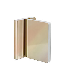 Nuuna Pearl Metallic Cover Notebook Gold