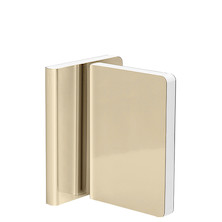 Nuuna Shiny Starlet S High Gloss Metallic Cover Notebook Gold